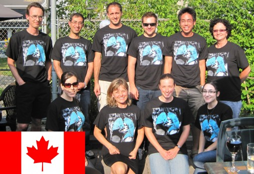 The hyperpolarized gas human lung imaging team at Robarts Research Institute and University of Western Ontario